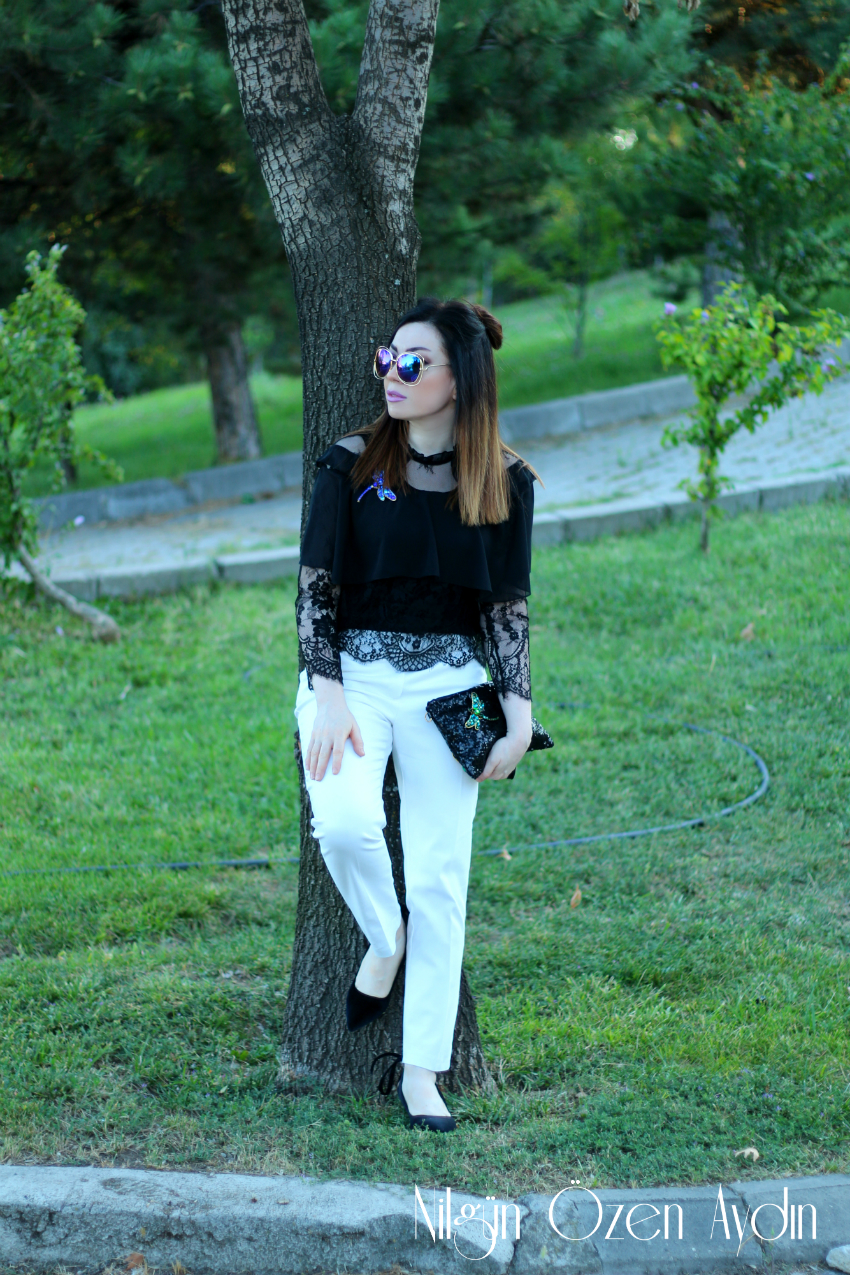 alışveriş-Siyah Kadife Stilettolar-yusufçuk broşlar-moda blogu-fashion blogs