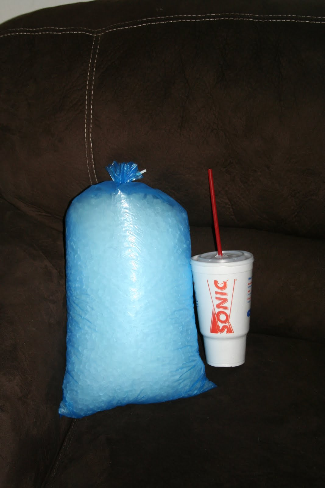 sonic bag of ice