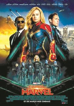 Capitã Marvel 2019 Torrent BluRay 720p | 1080p Dual Áudio / Dublado