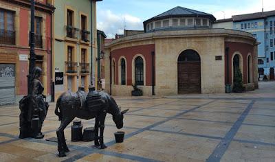 Plaza de Trascorrales de Oviedo, sede de Exfiastur 2018