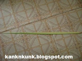 Cara Mudah Membuat Ketupat (Tutorial bergambar)