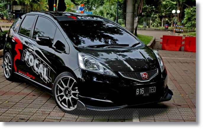 Kumpulan Gambar Mobil Honda Jazz Modifikasi Terbaru 2020