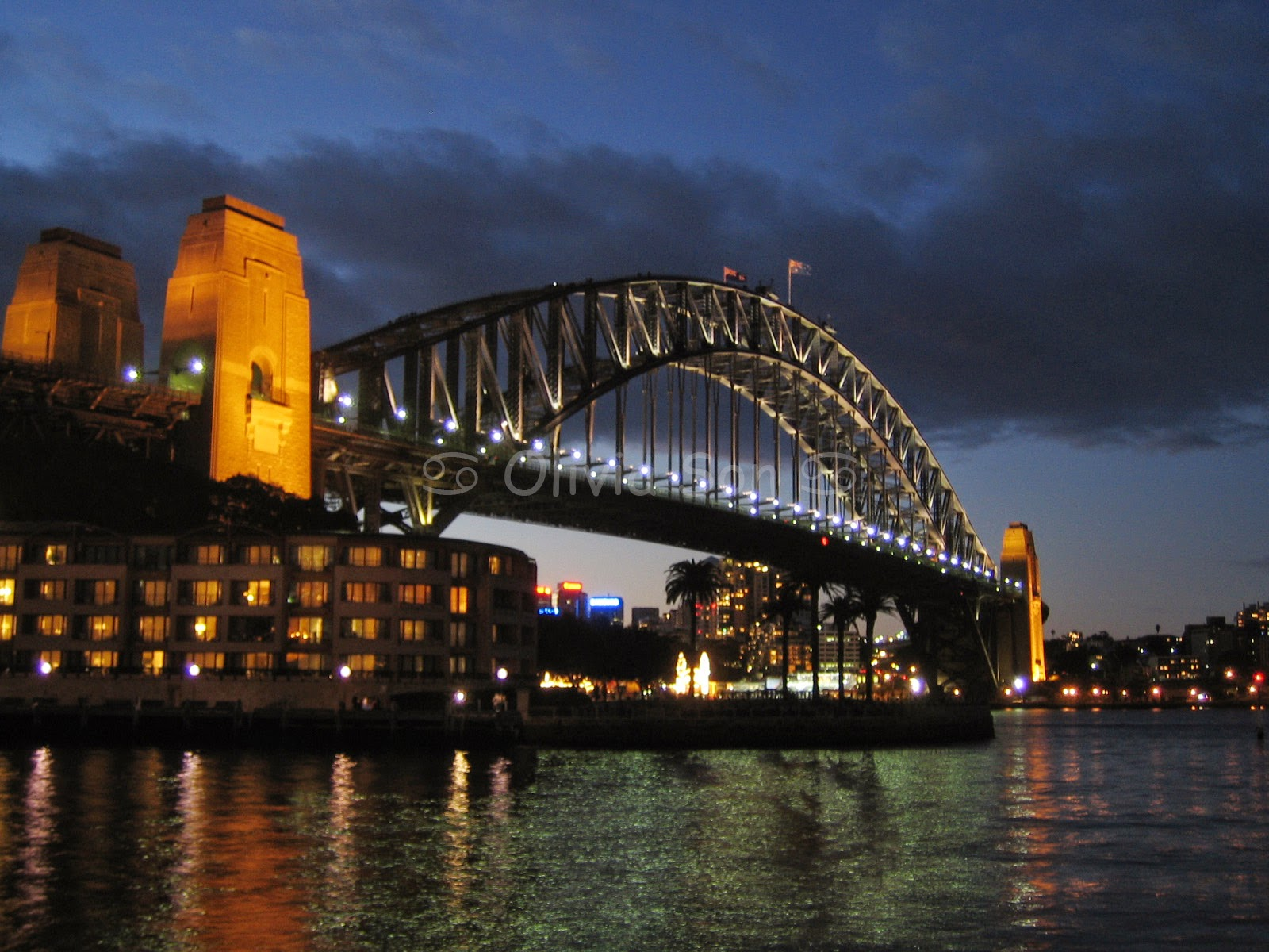 Sydney Harbour Bridge, The Rocks, Sydney, Australie