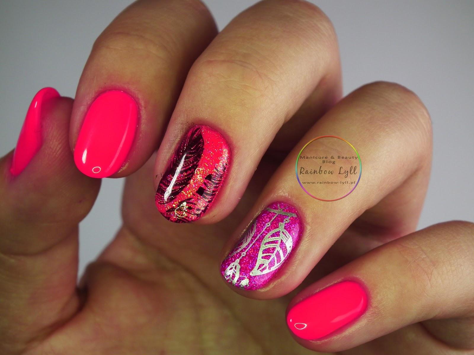 Iliz Beauty Neon Holo I Piora Manicure Hybrydowy