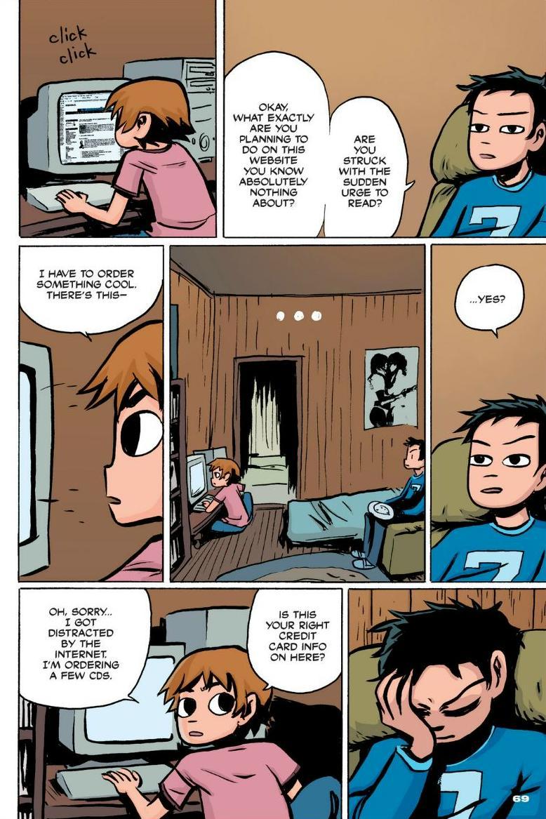 Read online Scott Pilgrim comic -  Issue #1 - 62