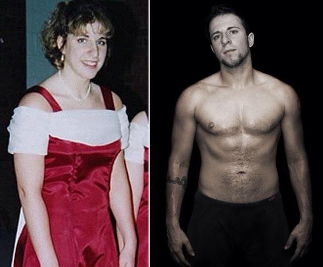 Ryan Sallans seorang LGBT yang merubah dirinya menjadi pria