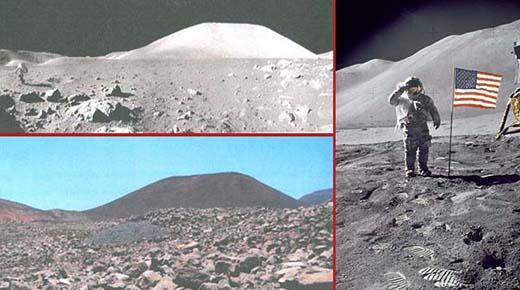 ¿Es aquí donde la NASA filmó los 'falsos alunizajes en la Tierra'?