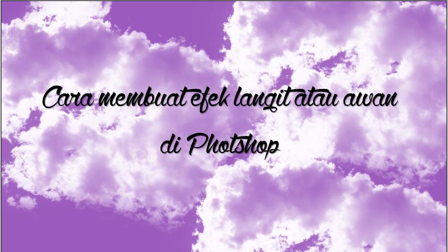 300 Gambar Awan Untuk Photoshop HD Gratis