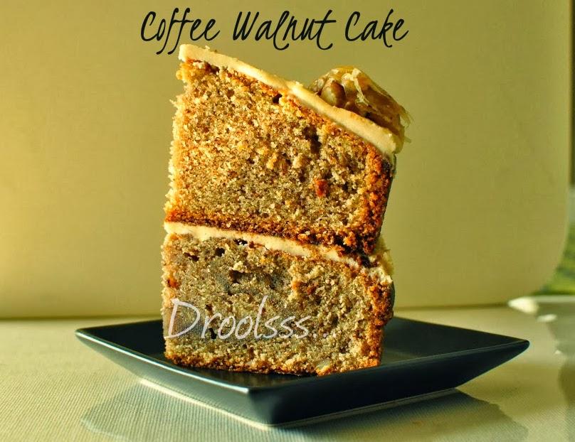 Layer Cake Recipe In Malayalam: Droolsss . . .: Coffee-Walnut Layer Cake