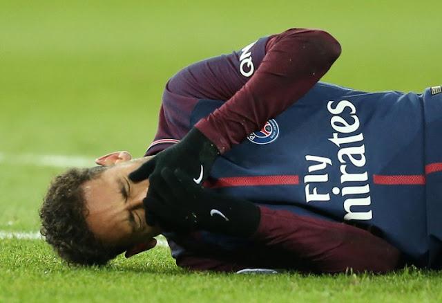 لاعب مارسيليا هدد نيمار بالضرب قبل الإصابة