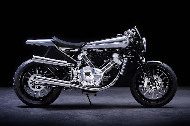 Brough Superior SS100 Front look