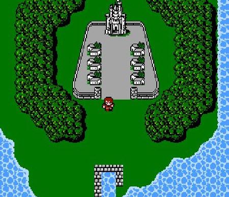 Imagen del juego Final Fantasy (1987)