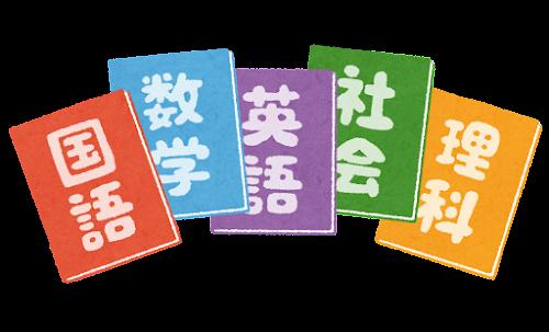 教科書のイラスト(中高5教科セット)