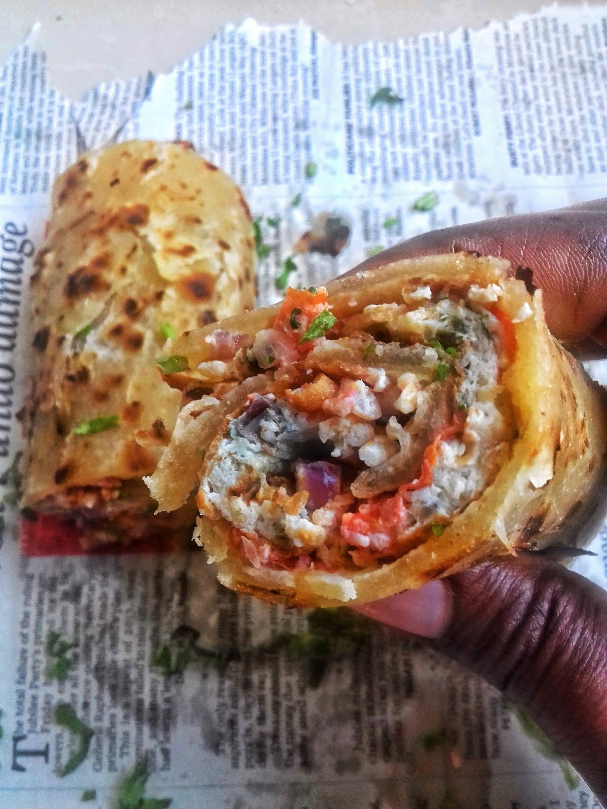 Ugandan rolex nairobi kitchen so today i woke up with cravings for eggs and i remembered that i had heard about ugandan rolex a famous ugandan street food that made headlines a while forumfinder Gallery