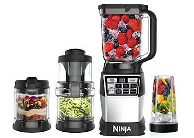 Ninja Blender - MultiFunctional Kitchen 4-in-1 High-Speed Blending System Auto-Spiralizer Processor