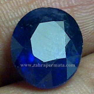 Batu Permata Royal Blue Safir - ZP 711
