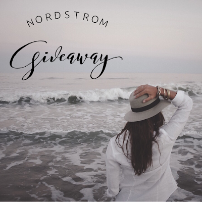 Enter the Nordstrom Insta Giveaway. Ends 10/20