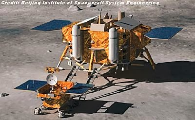 China's 1st Moon Lander May Cause Trouble for NASA Lunar Dust Mission