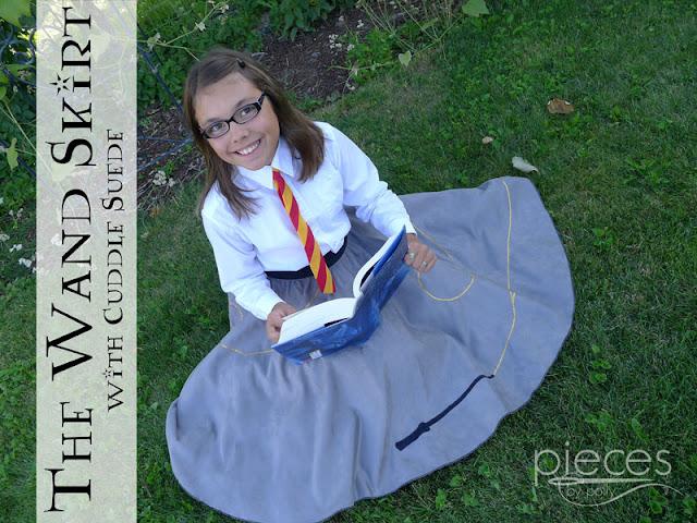 Harry Potter Wand Skirt