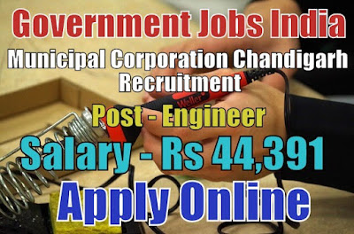 Municipal Corportion Chandigarh Recruitment 2017