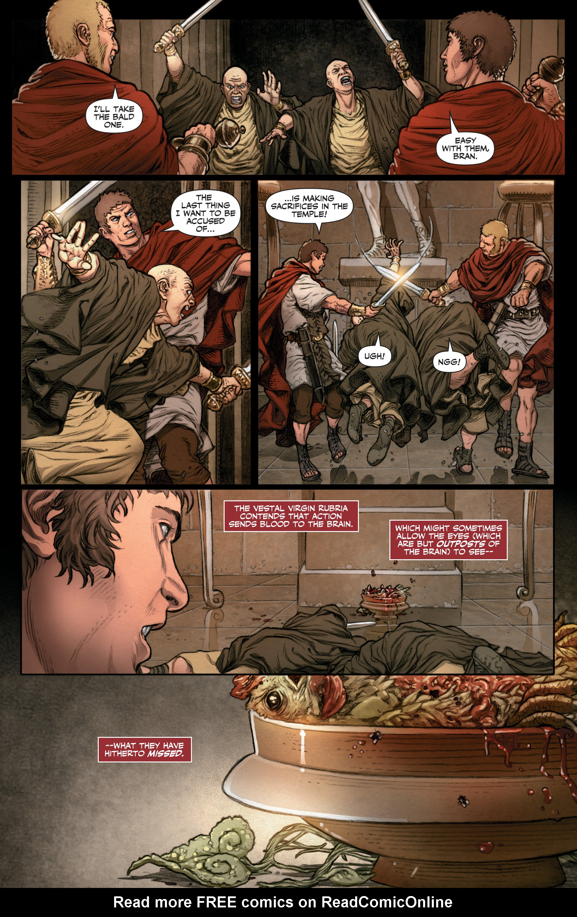Read online Britannia: We Who Are About To Die comic -  Issue #3 - 21