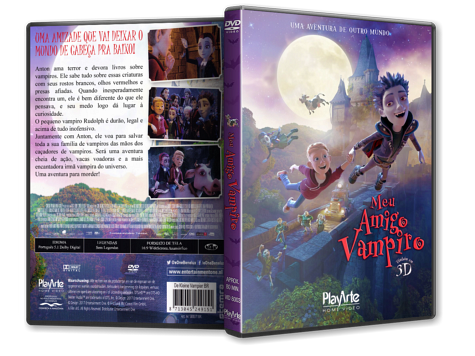 Capa DVD Meu Amigo Vampiro [Custom]
