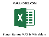 Fungsi Rumus MAX & MIN dalam Microsoft Excel