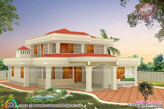 5 bedroom 2800 sq-ft modern home