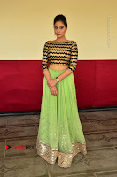 Actress Regina Candra Latest Pos in Green Long Skirt at Nakshatram Movie Teaser Launch  0087.JPG