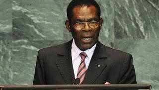 Teodoro Obiang Nguema Mbasogo Equatorial Guinee