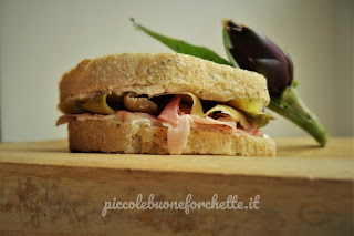 sandwich invernale per bambini