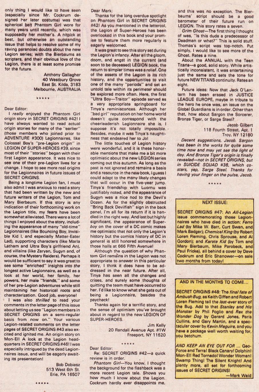 Secret Origins (1986) issue 46 - Page 40