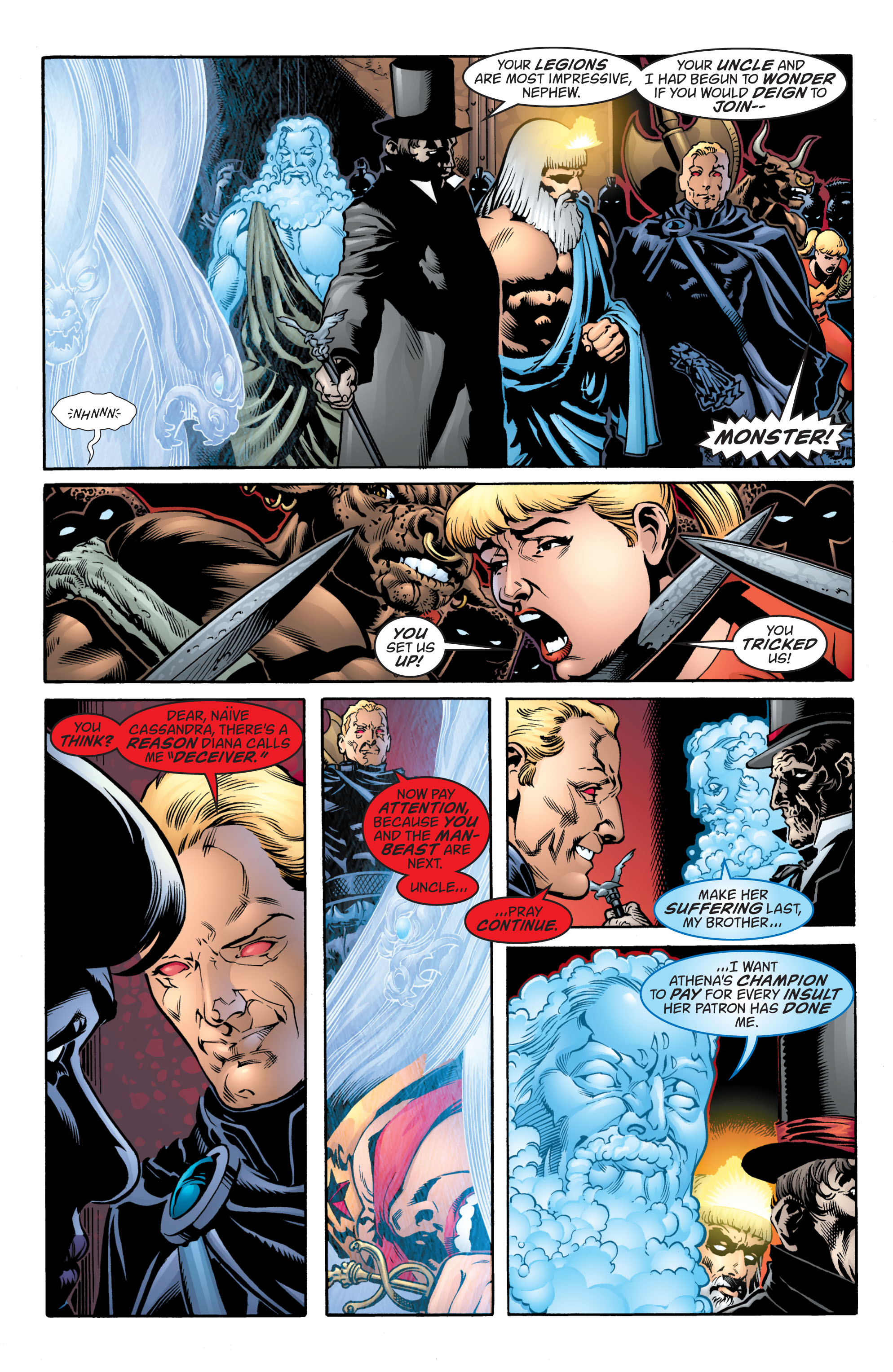Read online Wonder Woman (1987) comic -  Issue #217 - 10