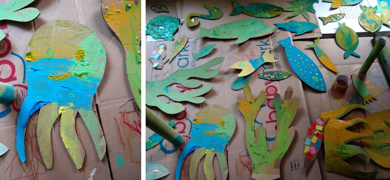 Rosa Linke Illustration Karneval Der Fische