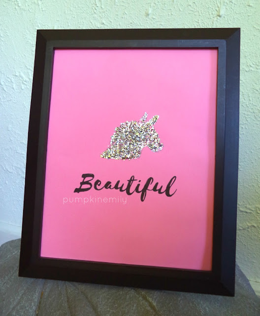 Unicorn Frame Art