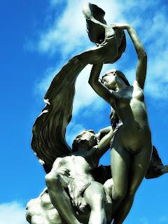 Escultura da Mulher de Longos Cabelos, Parque General San Martín, Mendoza
