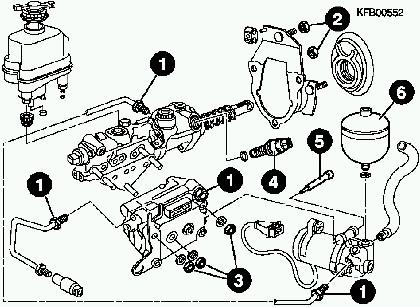 Volkswagen Passat Volkswagen Passat 35i Mk3 Abs Teves Mark 2 Brake
