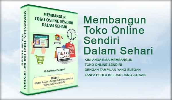 Ebook Panduan Membangun Toko Online Sendiri Dalam Sehari