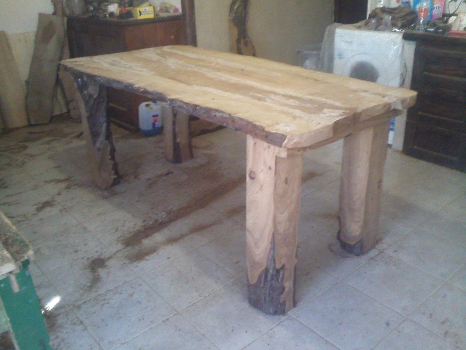 Arte rustika muebles rusticos artesanales juegos de comedor for Muebles de comedor en madera