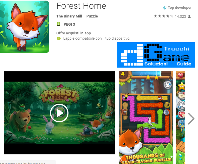 Trucchi  Forest Home Mod Apk Android v2.2.0