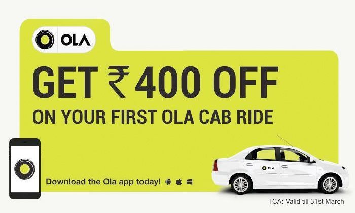 discount coupon for ola cab delhi