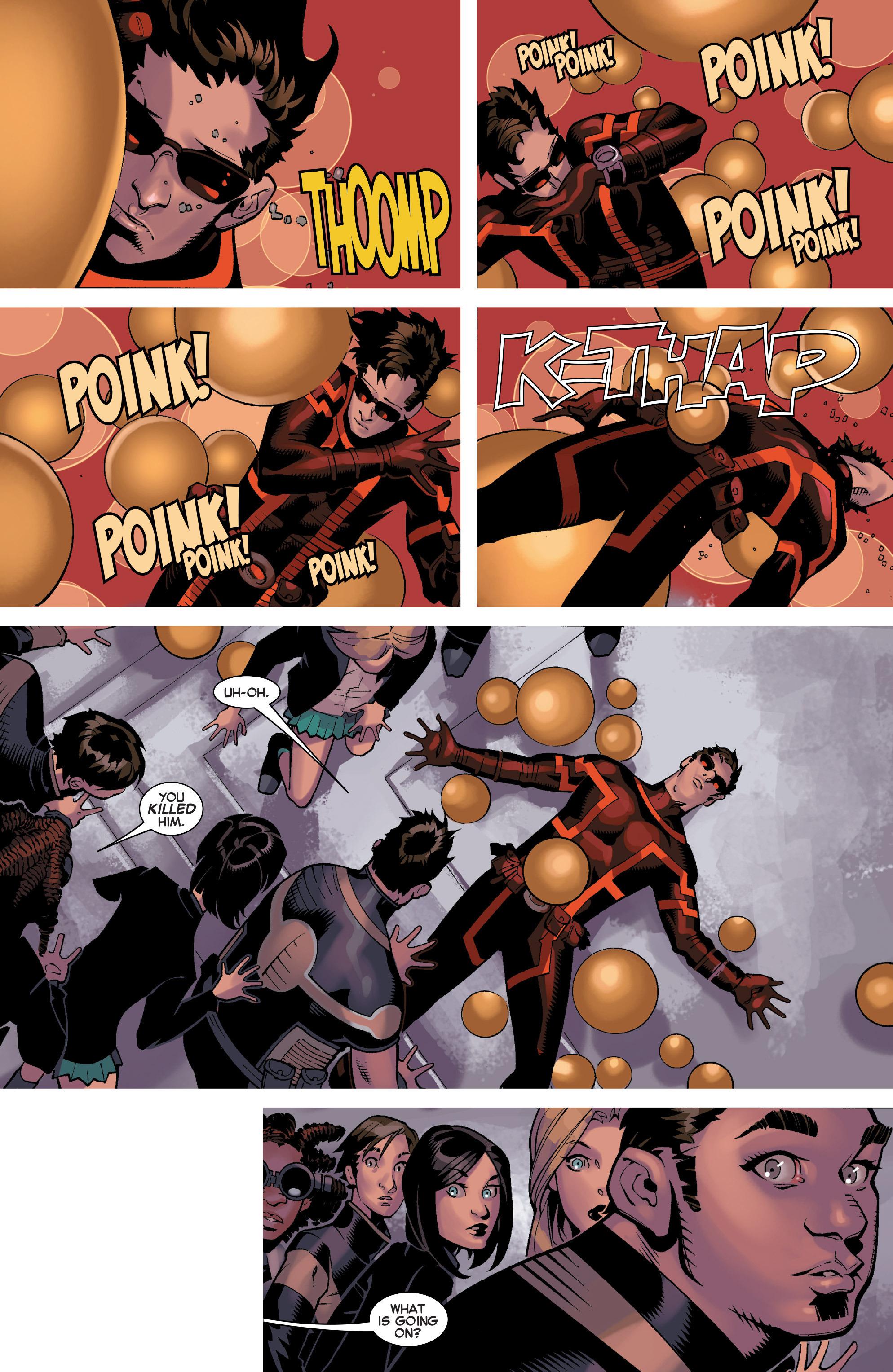 Read online Uncanny X-Men (2013) comic -  Issue #32 - 9