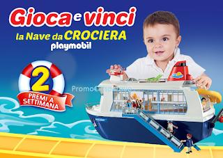 Logo Con Pampers vinci 62 ''Navi da crociera'' per il tuo bambino