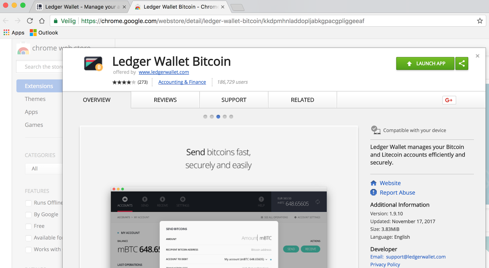 Ledger Nano S Wallet Android App Review and Price
