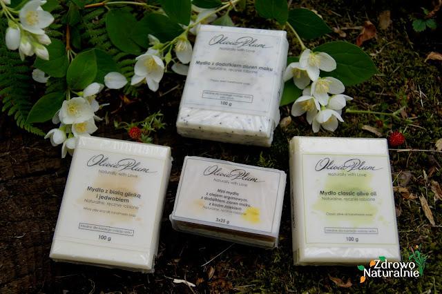 Olivia Plum - Naturalne mydła do mycia ciała