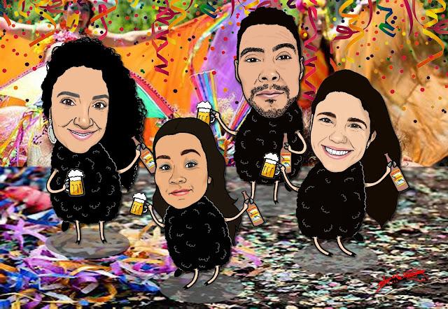 Carnaval 2018 - ovelhas negras