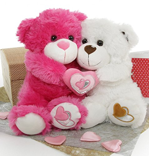 Romantic Teddy Bear for Lovers & Couples