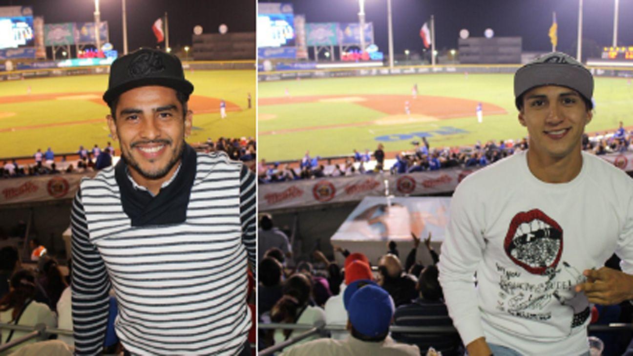 Miguel Ponce y Alan Pulido.