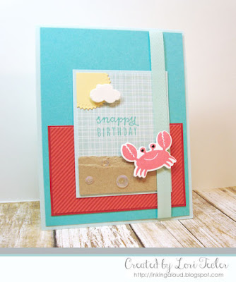 Snappy Birthday card-designed by Lori Tecler/Inking Aloud-stamps from Reverse Confetti