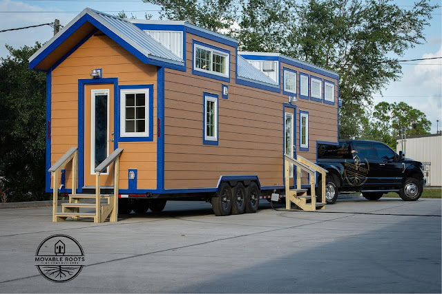 Cox tiny house - Moveable Roots